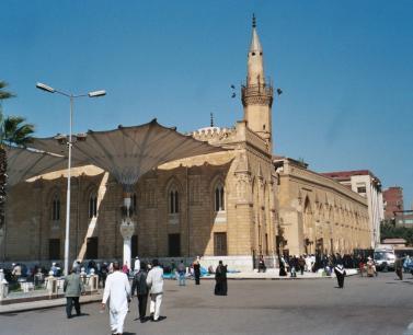 رحله الى شارع المعر, جامع الازهر و مسجد الحسين فى القاهره